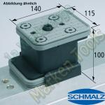 CNC Schmalz Vakuum-Sauger VCBL-K2 140x115x100 AS  140x115mm