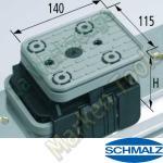 CNC Schmalz Vakuum-Sauger VCBL-K2 140x115x125  140x115mm