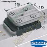 CNC Schmalz Vakuum-Sauger VCBL-K2 140x115x50  140x115mm