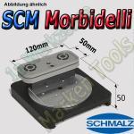CNC Schmalz Vakuum-Sauger VCBL-S1 120x50x50mm  360°drehbar z.B. Morbidelli SCM