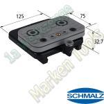 CNC Schmalz Vakuum-Sauger VCBL-S1 125x75x32,7 Q mit Schlauchanschluß