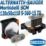 CNC Schmalz Vakuum-Sauger VCBL-S6 120x50x110 360°-15° TV z.B. Morbidelli SCM Flex Flexmatic Start Pilot
