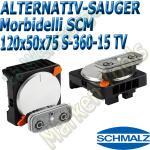 CNC Schmalz Vakuum-Sauger VCBL-S6 120x50x75 360°-15° TV z.B. Morbidelli SCM Flex Flexmatic Start Pilot