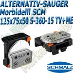 CNC Schmalz Vakuum-Sauger VCBL-S6 125x75x50 360°-15° TV+ME z.B. Morbidelli SCM Flex Flexmatic Start Pilot