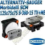 CNC Schmalz Vakuum-Sauger VCBL-S6 125x75x75 360°-15° TV+ME z.B. Morbidelli SCM Flex Flexmatic Start Pilot