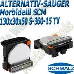 CNC Schmalz Vakuum-Sauger VCBL-S6 130x30x50 360°-15° TV z.B. Morbidelli SCM Flex Flexmatic Start Pilot