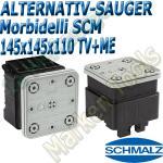 CNC Schmalz Vakuum-Sauger VCBL-S6 145x145x110 TV+ME z.B. Morbidelli SCM Flex Flexmatic Start Pilot