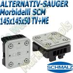 CNC Schmalz Vakuum-Sauger VCBL-S6 145x145x50 TV+ME z.B. Morbidelli SCM Flex Flexmatic Start Pilot