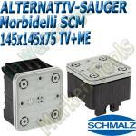 CNC Schmalz Vakuum-Sauger VCBL-S6 145x145x75 TV+ME z.B. Morbidelli SCM Flex Flexmatic Start Pilot