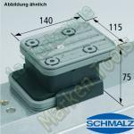 CNC Schmalz Vakuum-Sauger VCBLS-K2 140x115x75  140x115mm Schablone