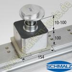 CNC Schmalz Vakuum-Sauger VCMC-K2 154x128x100 10-100