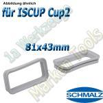 Dichtrahmen für Schmalz  Innospann Sauger-Cups-2 81 x43 mm