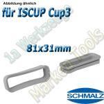 Dichtrahmen für Schmalz  Innospann Sauger-Cups-3 81 x31 mm