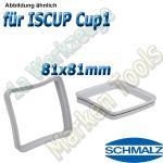 Dichtrahmen für Schmalz Innospann Sauger-Cups-1 81 x 81 mm