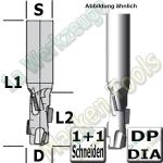 DP Dia Schaftfräser � 16mm x35x90mm Z1+1 Ecoline 3502 Schaft 16mm