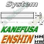 Enshin/Kanefusa Hobelmesser 190mm x12x2.7mm HM HW 2 Stück