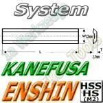 Enshin/Kanefusa Hobelmesser 190mm x12x2.7mm HSS 2 Stck.