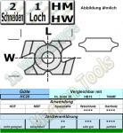 HM HW Abrundmesser r=3,0mm 23x15x9mm K22/0 HC20 1 Stück