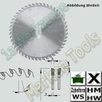 HM HW Besäum- und Fertigschnitt- Sägeblatt Ø 250x3.2x2.2xØ30 Z=80 WS NL Combi2