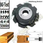 HM HW Verstellnuter 4,0-7,5mm Ø150mm d=30mm tmax.25mm Z4 V4 BG Test