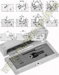 HM Wendeplatten-Ziernutfräser HW Set S=10