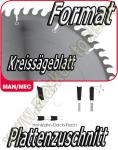 HW HM Format-Kreissägeblatt Ø 302x3.2x2.2x30mm Z=60 NL Combi2 H-DA-F
