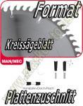 HW HM Format-Kreissägeblatt Ø 350x3.2x2.2x30mm Z=72 NL Combi2 H-DA-F