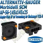 Schmalz Adapter-Plate AP zur Verwendung der Blocksauger VCBL-S6 - VCBL-B