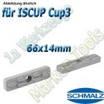 Schmalz Reibplatte ISRPL 66x14mm Höhe 8,5mm für Innospann Cup-3