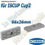 Schmalz Reibplatte ISRPL 66x26mm Höhe 8,5mm für Innospann Cup-2