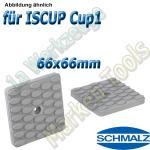 Schmalz Reibplatte ISRPL 66x66mm Höhe 8,5mm für Innospann Cup-1