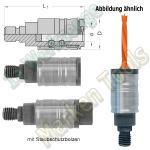 Schnellspann Bohrfutter für Schaft Ø10mm Bohrer L. M10 P11mm
