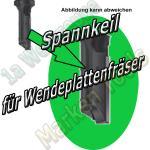 Spannkeil für Wendeplattenfräser Z1 Ø8 und 9mm x20mm rechtsgang