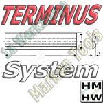 Terminus Hobelmesser 100x14x2.5 HM HW 2Stck.