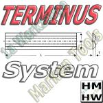 Terminus Hobelmesser 250x14x2.5 HM HW 2Stck.