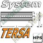 Tersa System Hobelmesser 125mm x10x2.3mm   HPS 2 Stück
