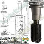 Wendeplatten Hohlkehl / F�geschaftfr�ser R=25mm �50x85/100x155 S=25x55mm Z1+1+1+1