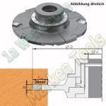 Wendeplatten Verstellnuter mit Gewindebüchse HM HW160mm 12,5-24mm Z4 V4