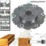 WP Nutfräser verstellbar Ø180x 4-15mm x30mm max. Nuttiefe 35mm Z=8+2+4