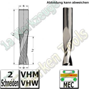 Ø 20mm x55x115mm Z2 Schlichtfräser Spiralnutfräser VHW VHM S=20 RR