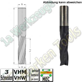 Ø 20mm x55x115mm Z3 Schlichtfräser Spiralnutfräser VHW VHM S=20 RR Beschichtet