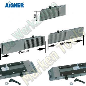 Aigner Integralanschlag für Tischfräse 650mm 650mm x 150mm