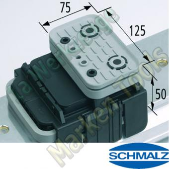 CNC Schmalz Vakuum-Sauger VCBL-K1 125x75x50 Q 140x115mm