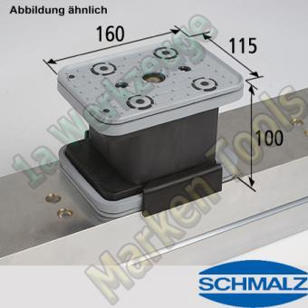 CNC Schmalz Vakuum-Sauger VCBL-K2 160x115x100  160x115mm