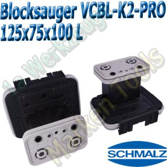 CNC Schmalz Vakuum-Sauger VCBL-K2-PRO 125x75x100 L 160x115mm
