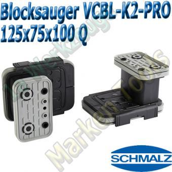 CNC Schmalz Vakuum-Sauger VCBL-K2-PRO 125x75x100 Q 160x115mm