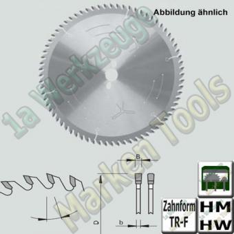HM HW Platten-Aufteil-Sägeblatt Ø450x4,8x3,5xØ60 Z=72 TR-F NL 2/14/125 + 2/19/120