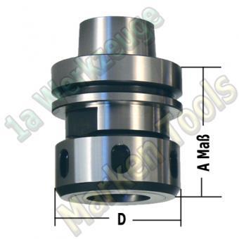 HSK 63 E Spannzangenfutter A=76mm D=63mm Spannzange OZ25/444E/462E