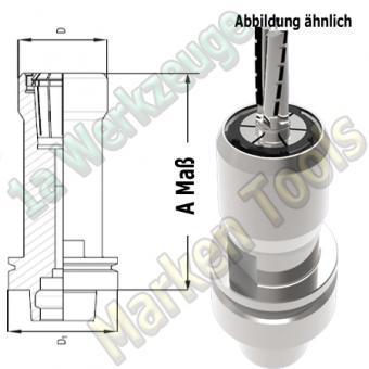 HSK 63F CNC Spannzangenfutter OZ25 462E Spannzange A=76mm D=53mm Zeta Innenmutter