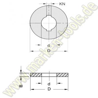 Ringsatz d=30mm für L2=40mm